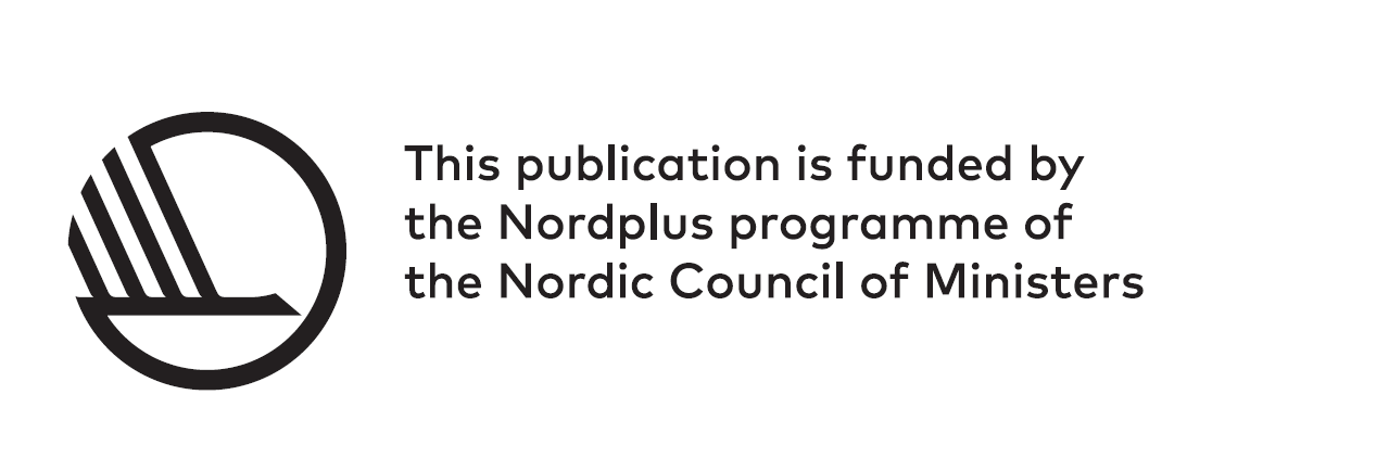 Nord+ logo - english version